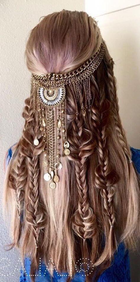 Ejemplos de peinados hippies f ciles de hacer 2017 - Fotos peinados de moda ...