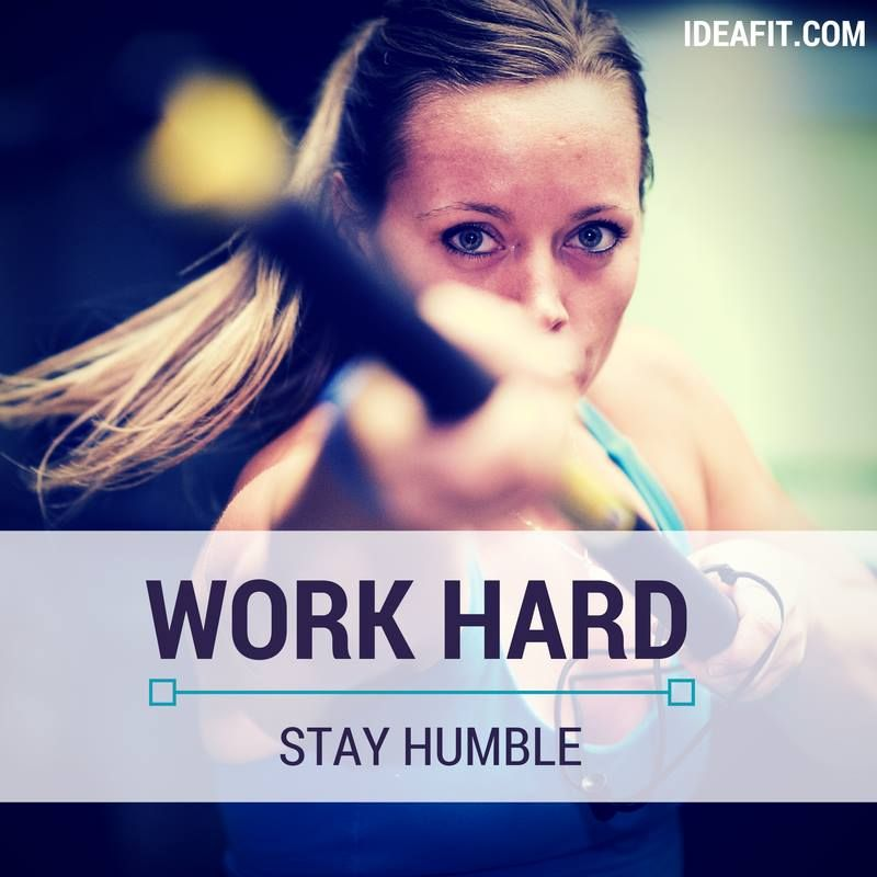 Inspirational Quotes About Failure: Fitness Inspiration Quote. Work Hard. Stay Humble. Repeat