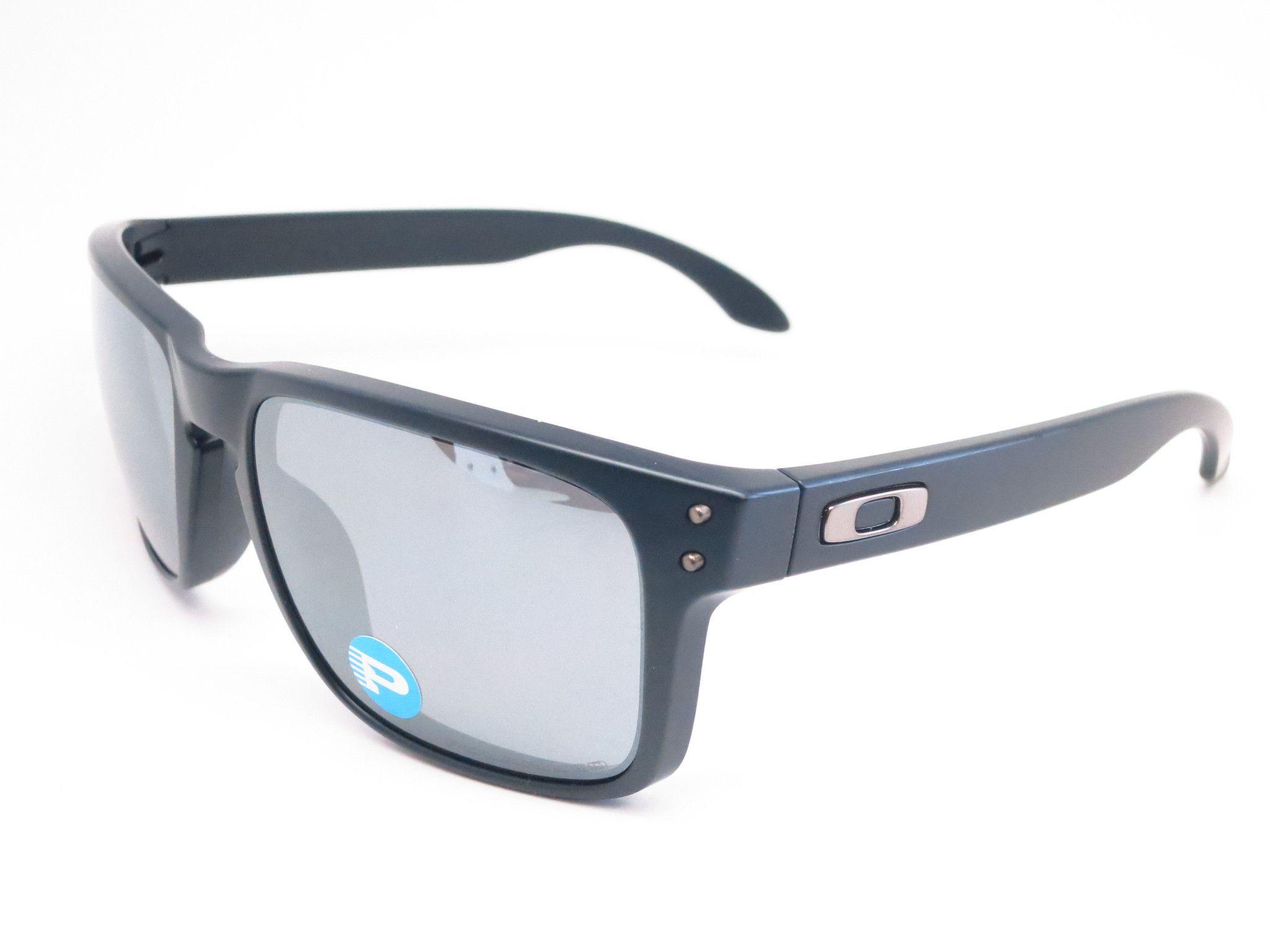 Oakley Holbrook OO9102-62 Matte Black Polarized Sunglasses 42d7872c89