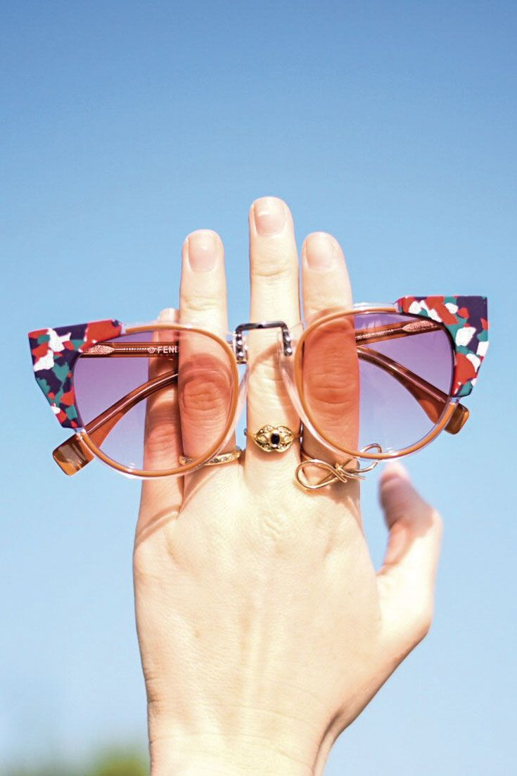 Bonjour Chiara Loves // Fendi sunglasses from Qatar Optics www.bonjourchiara.com