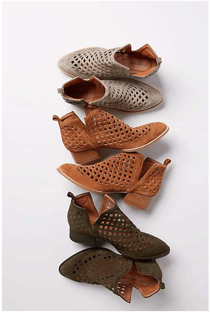 8b42acfbd I'll never regret having 2 pairs of these. Best spring/summer bootie ...