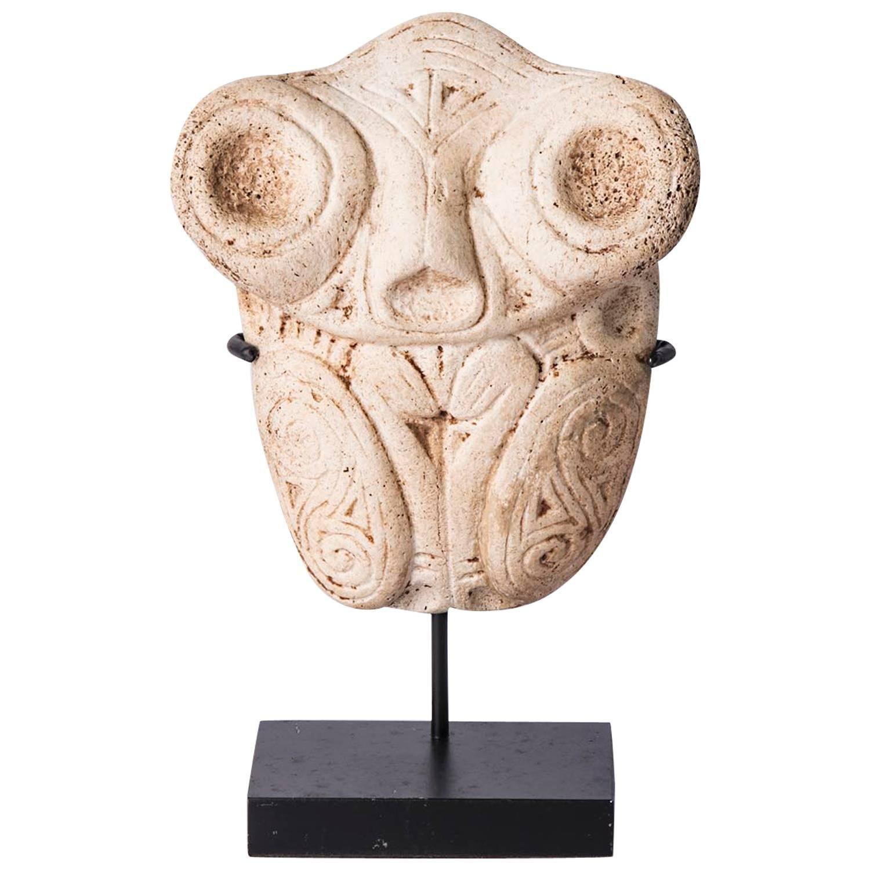 Sculpture Taino Culture Dominican Republic Bone 1stdibs Com Tribal Art Sculpture Prehistoric Art