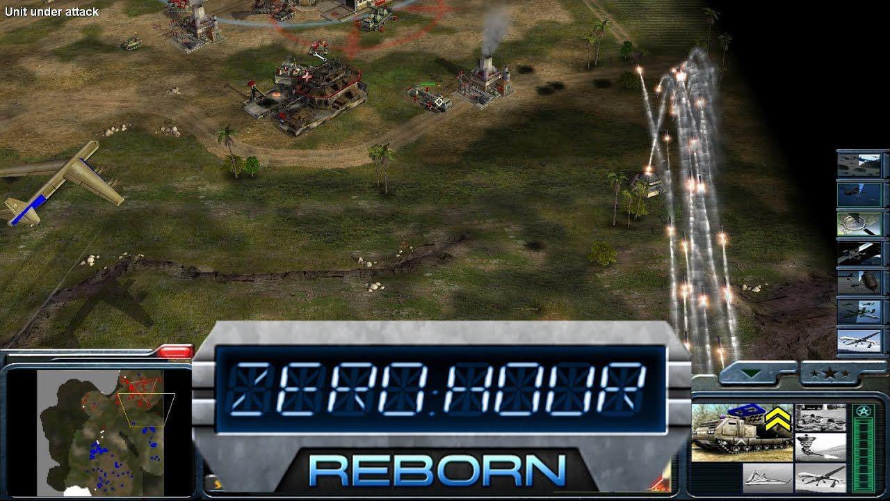 لعبة general zero hour reborn من ميديا فاير