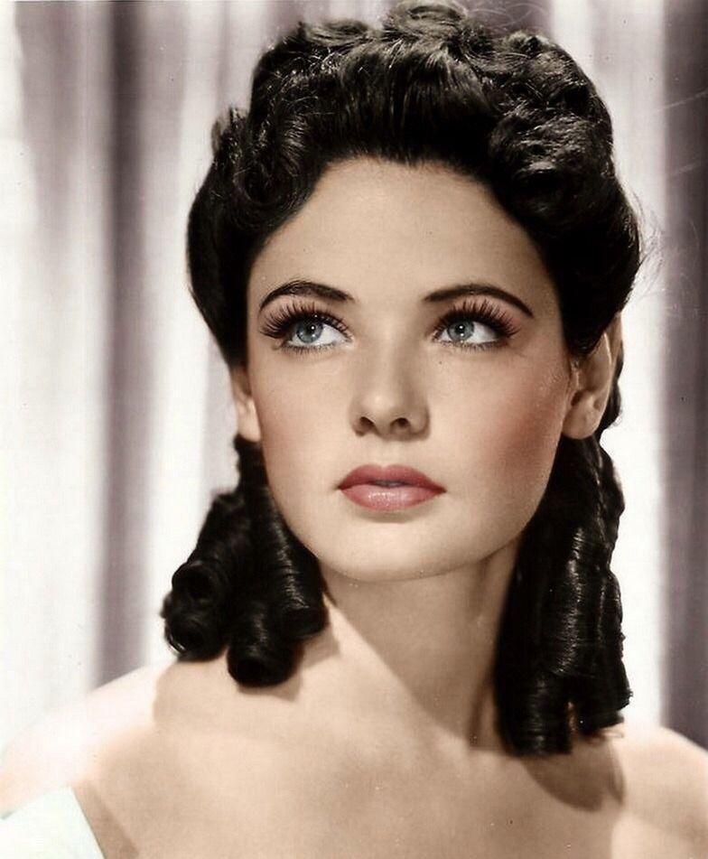 Gene Tierney Vintage Hairstyles Gene Tierney Hair Makeup