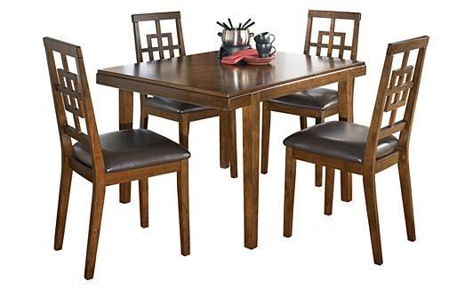 Cimeran - Table de salle à manger et 4 chaises Meubles