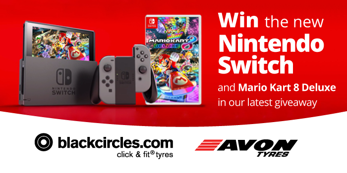 Console Giveaway Win A Nintendo Switch Bundle Mario Kart Mario Kart 8 Nintendo Switch