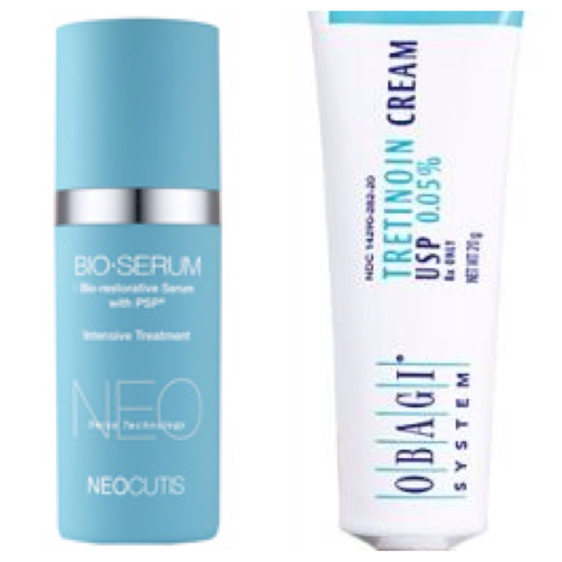 SKIN COCKTAILS- cocktails in the morning and cocktails in the evening! We love to mix products for delivering maximum active ingredients to the skin. We are loving Neocutis Bioserum containing growth factors mixed with tretinoin (retin-A). Actives work very differently and this #BarbaCocktail is great for creating maximal collagen synthesis. The vehicles also go very well together: Bioserum is moisturizing, offsetting the dryness and irritation that is common when using a retinoid…