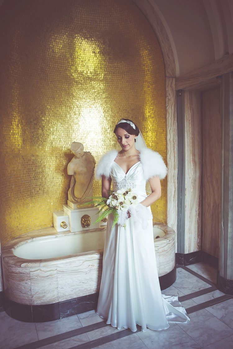 An Elegant Fred Astaire And Ginger Rogers Inspired Wedding At Eltham Palace Wedding Dresses Wedding Bride