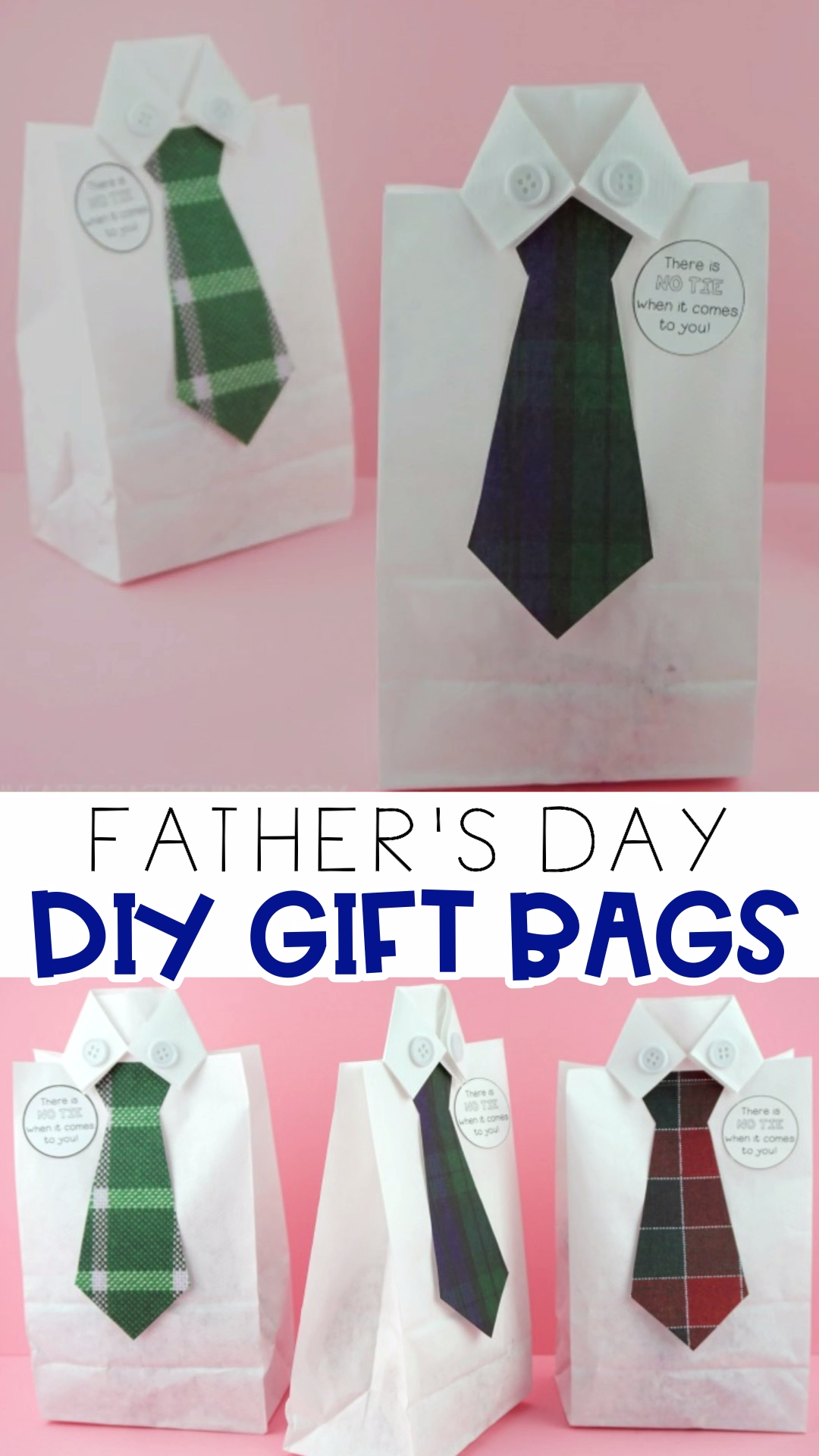 How to Make a DIY Father's Day Gift Bag
