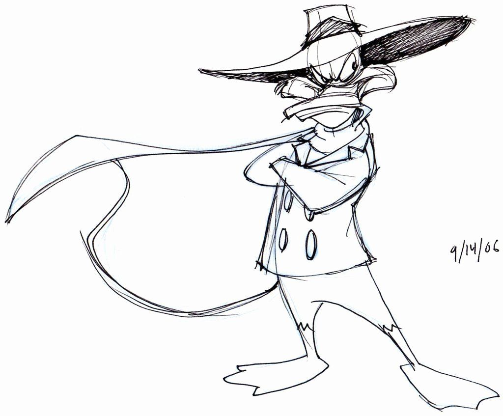 Dark Disney Coloring Book Lovely Darkwing Duck Art In 2020 Dark Disney Coloring Books Disney Coloring Pages