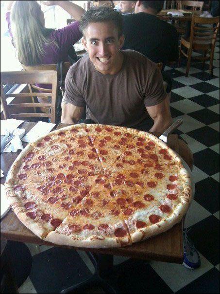 30 pizza challenge at luigi s at the beach