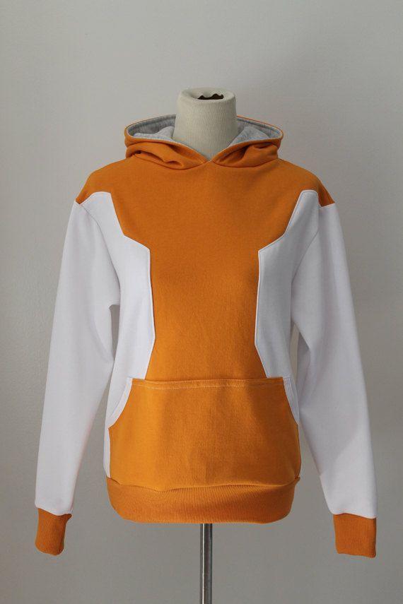 88c5d2dd5ffe0 Orange Pokemon GO Trainer Cosplay Costume Hoodie Jacket