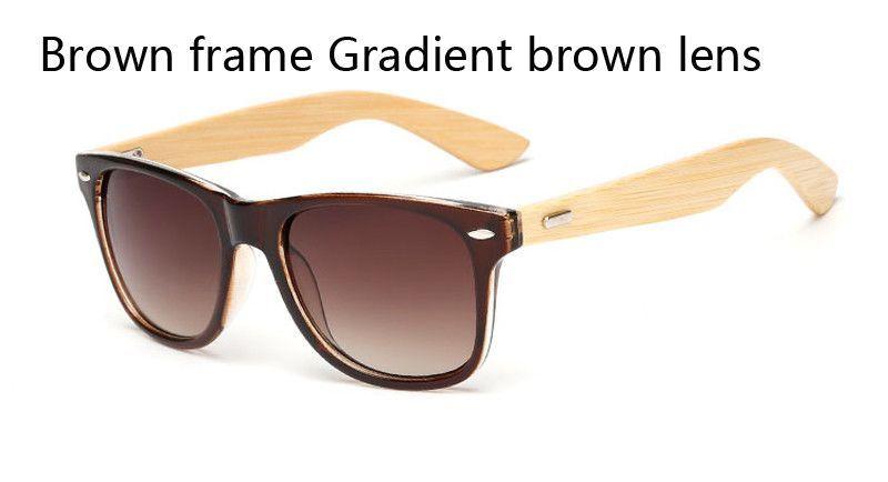 f68ae43b2de2 16 color Bamboo Sunglasses Men Wooden Sunglasses Women Brand Designer  Mirror Original Wood Sun Glasses Oculos de sol masculino