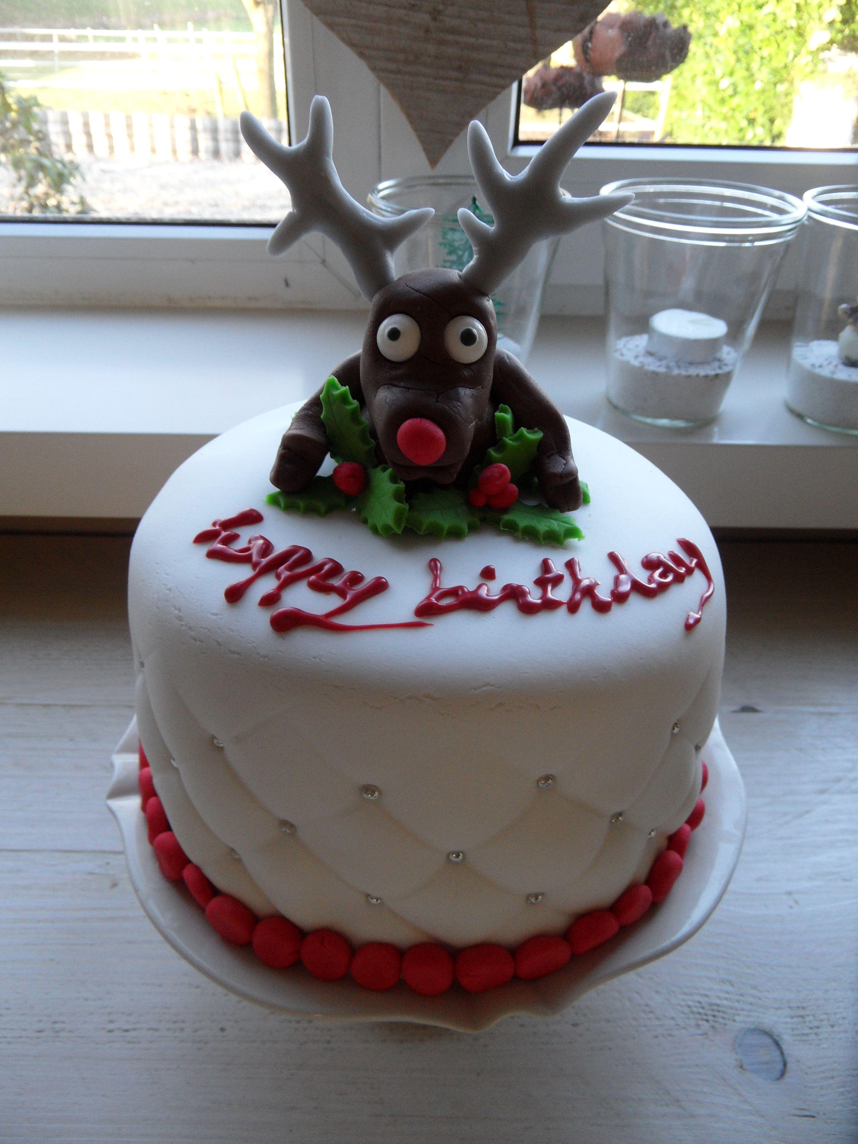 cosy christmas cake