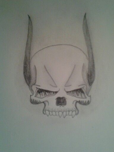 I guess I draw skulls now xD haha
