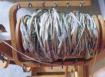 Spinning plastic bag yarn (Plarn)