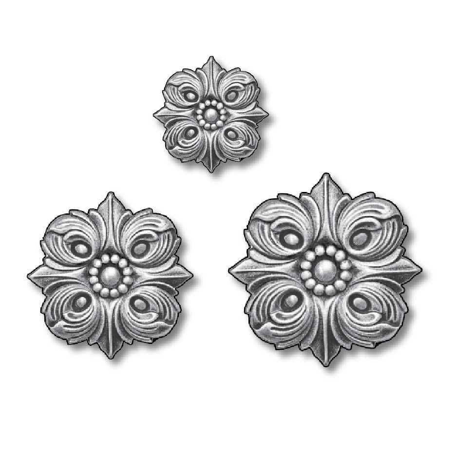 Best Double Faced Steel Casting Rosettes By Grande Forge In 400 x 300
