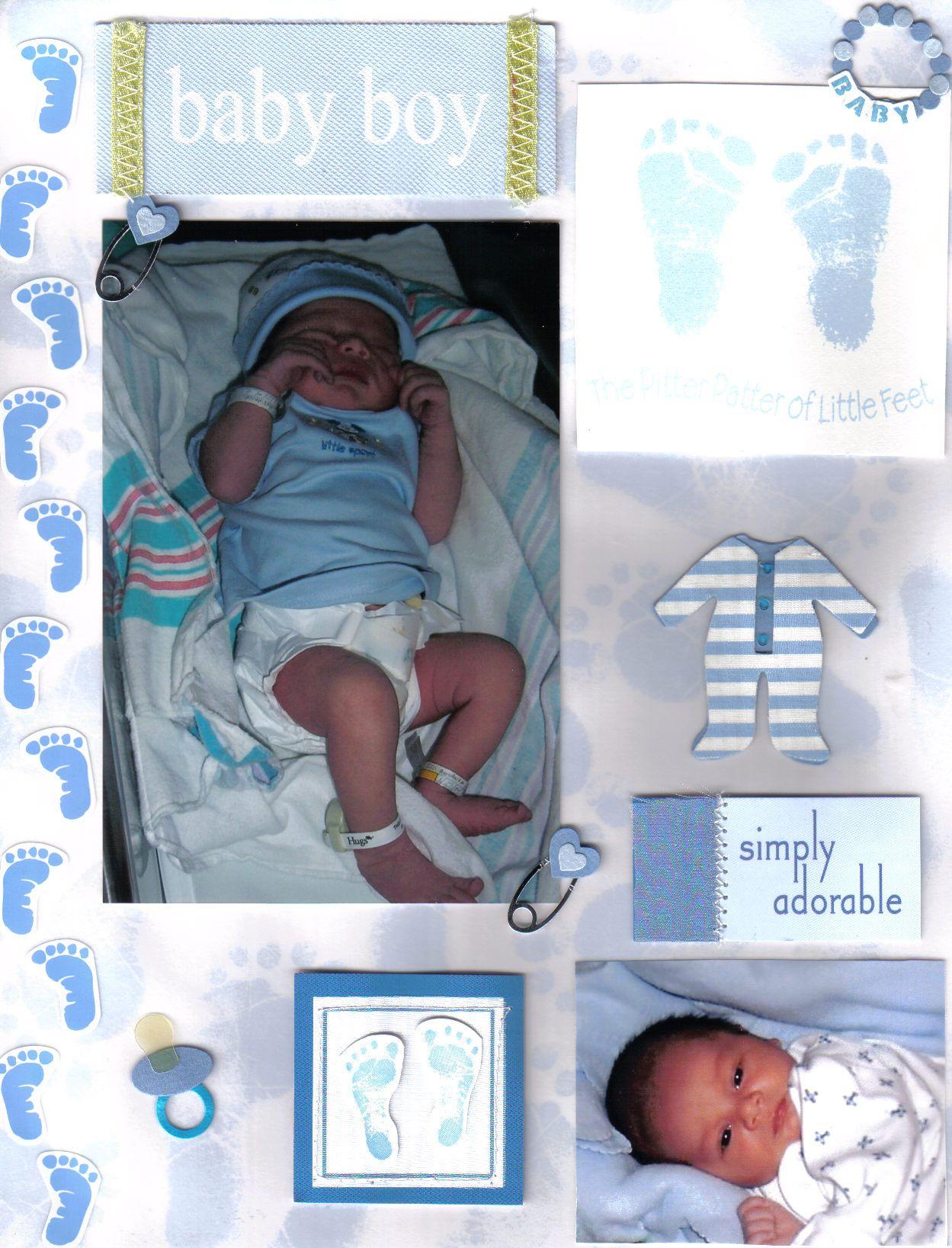 Scrapbook Ideas Scrapbook Ideas For Baby Boy Baby Scrapbooking