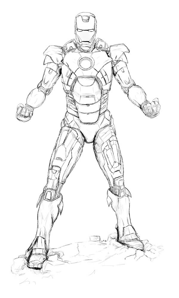Sketch Of Iron Man Coloring Page Netart In 2020 With Images Avengers Coloring Pages Avengers Coloring Marvel Coloring