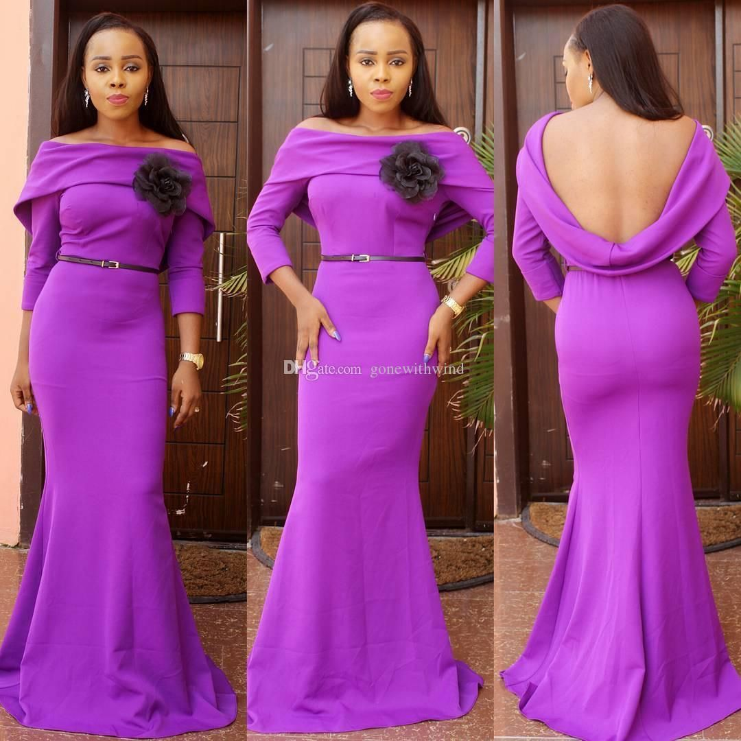 2016 african wedding guest dresses long sleeves bridal outfits ...