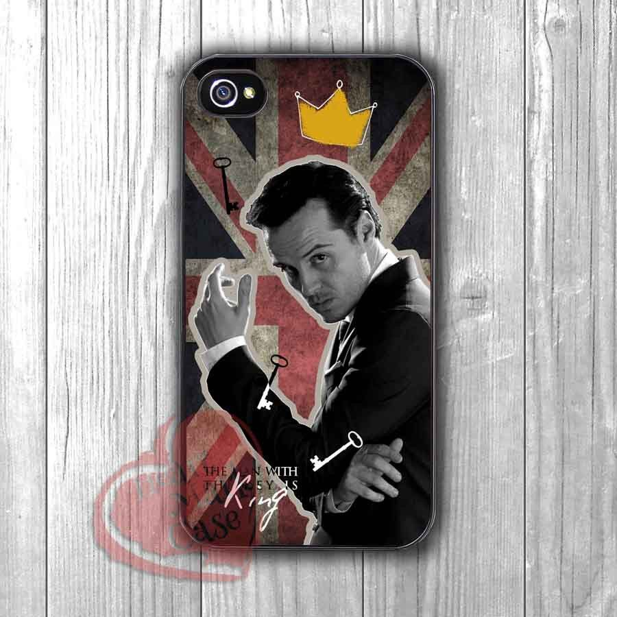 Jim Moriarty king of the man -ssrw for iPhone 6S case, iPhone 5s case, iPhone 6 case, iPhone 4S, Samsung S6 Edge