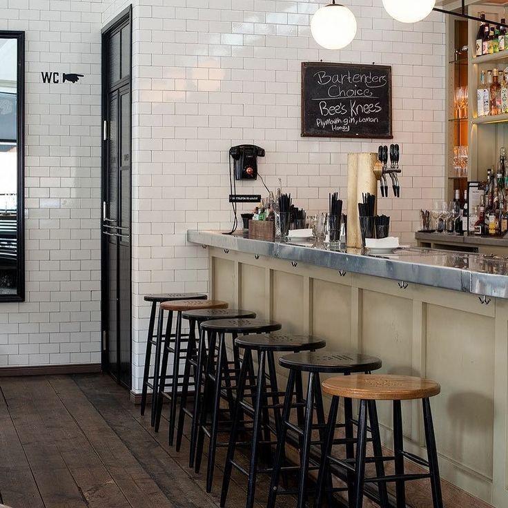 Image result for white subway tile restaurant  Counter