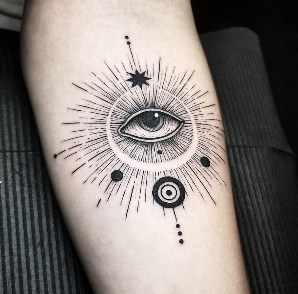 Abstract Evil Eye Best Tattoo Design Ideas Evil Eye Tattoo Hippie Tattoo Third Eye Tattoos