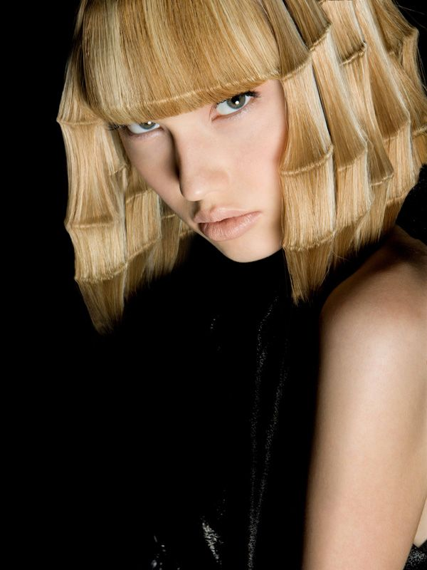 """Angelo Seminara,stylist and multi-time British Hairdresser of the Year ... """"Bamboo Hair"""""""