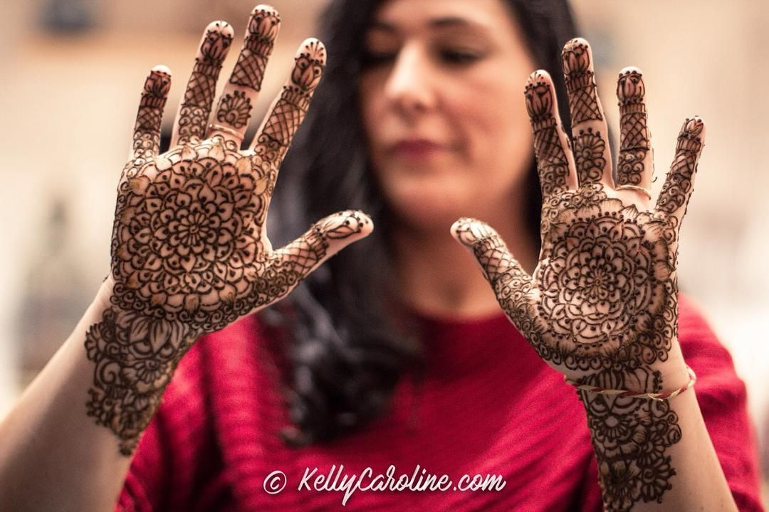 Mehndi For Party : Here is the henna for a winter wedding mehndi party in ann arbor