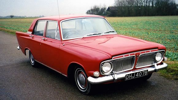 1963 Ford Zodiac Mk Iii As With The Zephyr Huge Fins And An