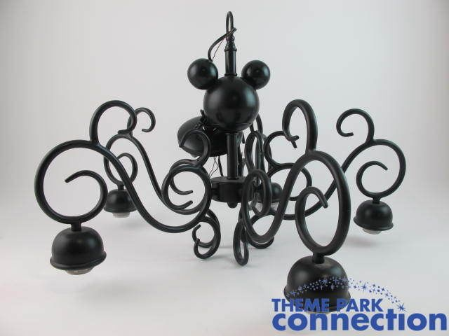 new styles 22d55 1f9ae Disney MICKEY MOUSE Black Metal Decorative Home Chandelier ...
