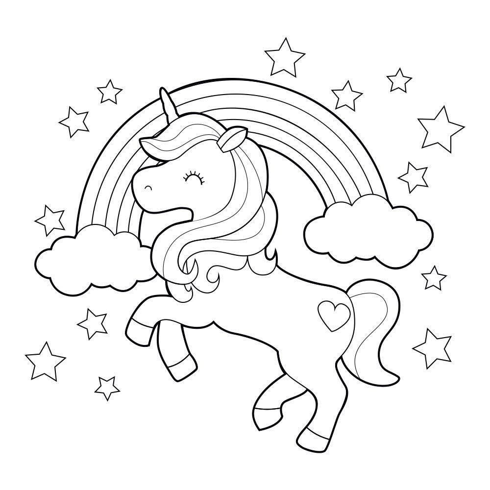 Coloriages Licorne à Imprimer gratuits  Magic Licorne  Unicorn