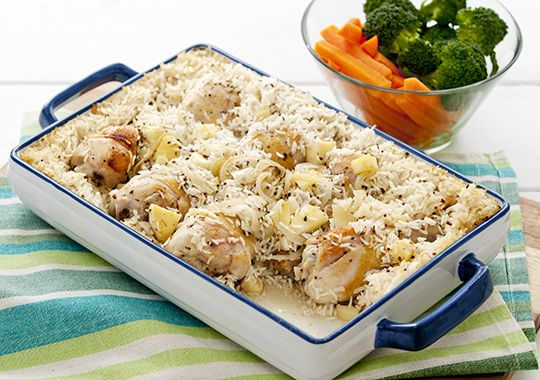 Countdown Recipes Recipe Chicken Rice Bake Recipes Ingredients Recipes