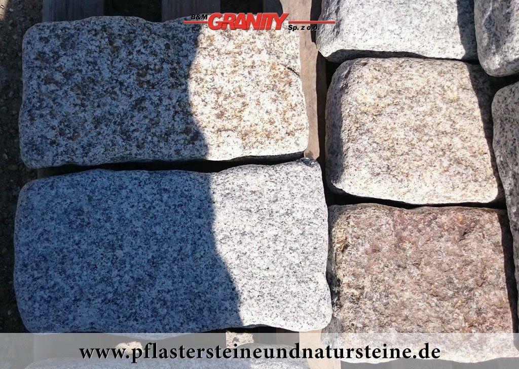 Firma B&M GRANITY - Rustikale Pflastersteine, Mauersteine, Quader ...