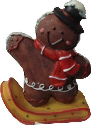 Christmas Decoration Gingerbread Sledding Characters Chocolate Bear with Hat and Scarf 551-561 Design 2 by PMS International, http://www.amazon.co.uk/dp/B00A4DEKV8/ref=cm_sw_r_pi_dp_fAe8sb1EH0XH4