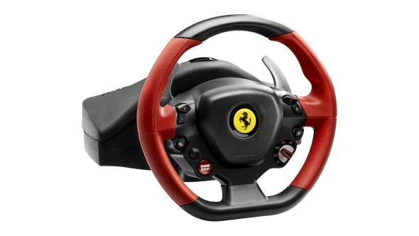 Thrustmaster Ferrari 458 Spider Racing Wheel For Xbox One Ferrari 458 Racing Wheel Ferrari Spider