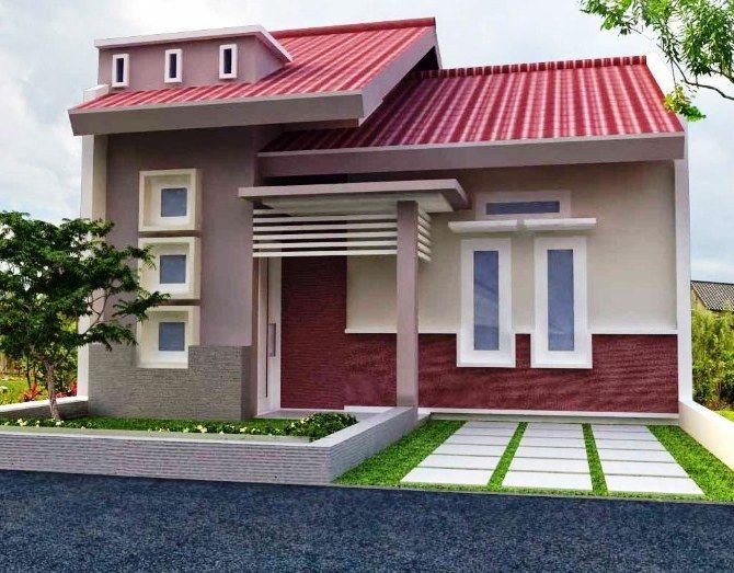 70 Ide Model Desain Rumah Minimalis Type 45 Modern Sederhana