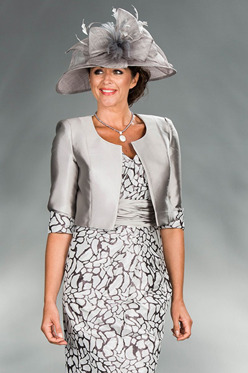 Cabotine short dress jacket 4993745 catherines of for Wedding dress for 5ft bride