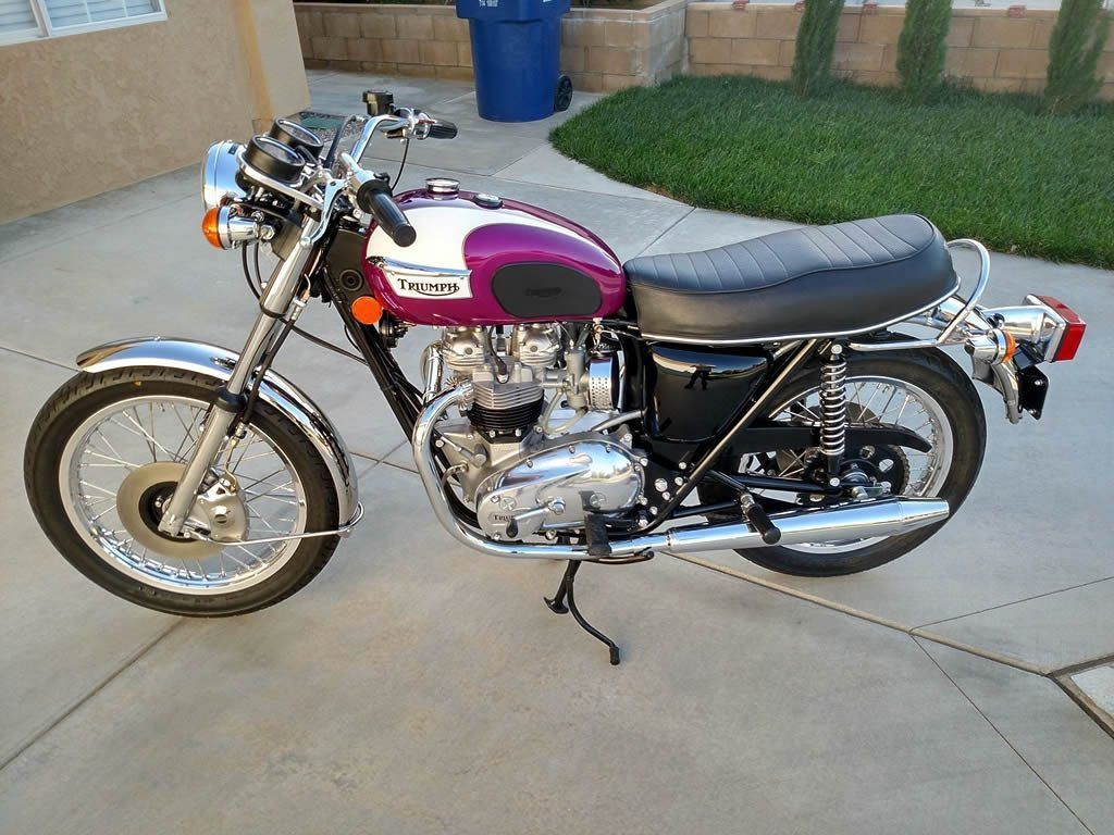 1976 Triumph Bonneville Restomod Triumph Bonneville Triumph Bikes Triumph Motorcycles [ 768 x 1024 Pixel ]