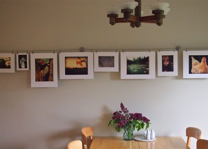 Easy Inexpensive Versatile Art Display With Ikea Dignitet