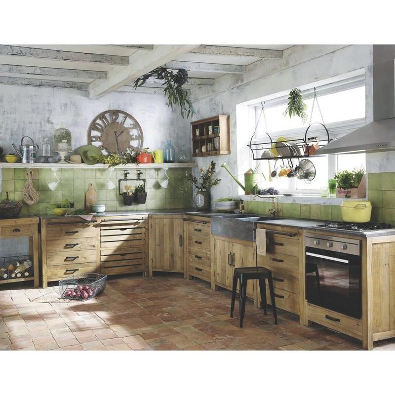 Trucos para decorar con imaginación Industrial style kitchen - repeindre un evier de cuisine