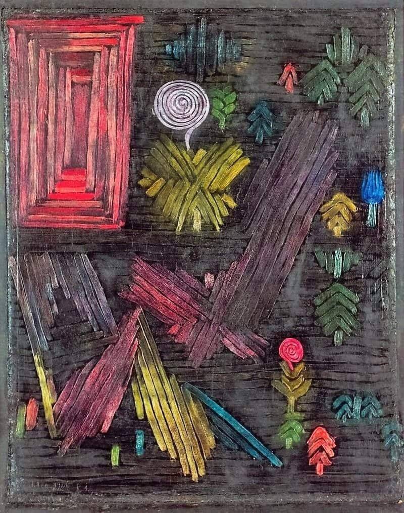 Paul Klee Tor Im Garten Porte Dans Le Jardin 1926 Rang Barang