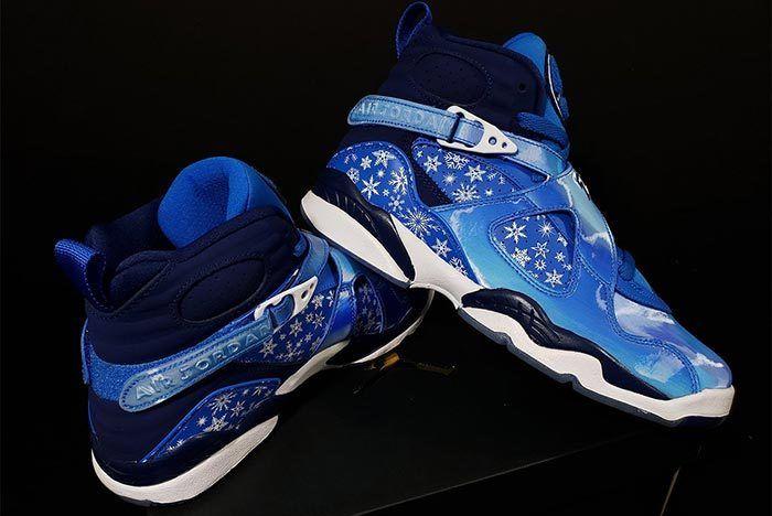 5091488741c6 Air Jordan 8  Snowflake  Packing the Winter Vibes