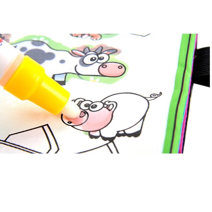 Livre De Coloriage Enfants Animaux Peinture Magique De L Eau Dessin
