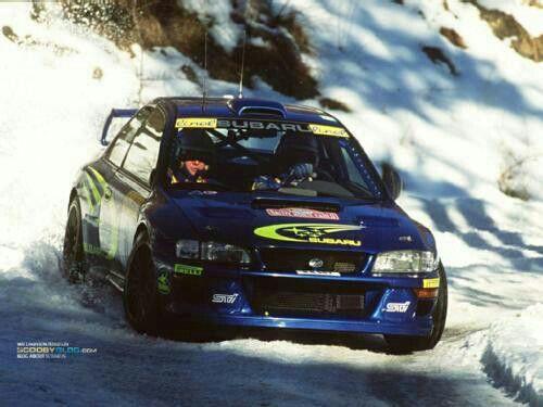 Subaru Impreza WRC 22b 1999