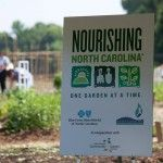 Nourishing North Carolina sign, Charlotte, NC
