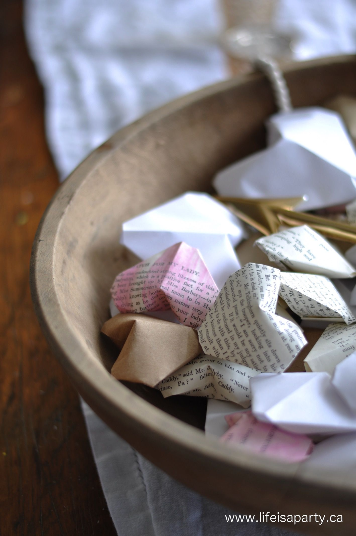 3D Origami Hearts: How To Make 3D Origami Hearts, with a ... - photo#39