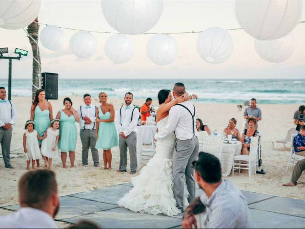 Wedding Reception At Hard Rock Hotel Punta Cana
