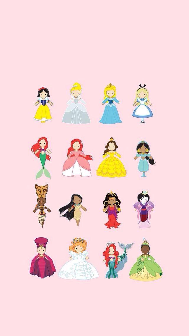 Disney princesses Disney princess wallpaper, Disney