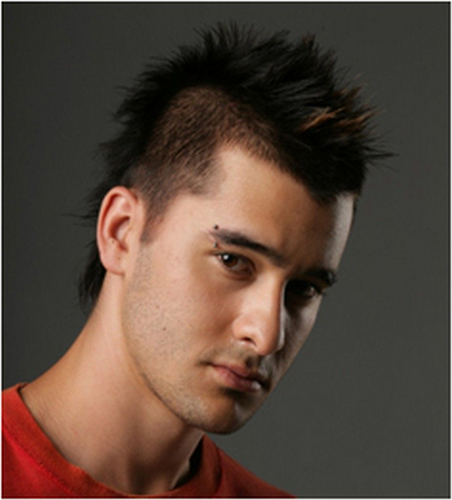 Of Celebrities Long And Short Mohawk Haircuts Of 2012 Previous Next
